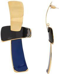 Lizzie Fortunato - Ernesto Blue Earrings - Lyst