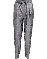 Brochu Walker - Nives Tie Waist Metallic Pants - Lyst
