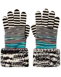 Missoni | Combo Knit Gloves | Lyst