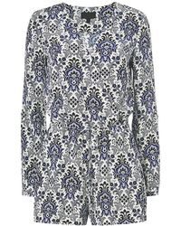 Exclusive For Intermix - Mccourty Print Romper - Lyst