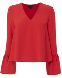 Exclusive For Intermix - Katie Bell Sleeve Blouse - Lyst