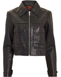 VEDA - Jack Leather Jacket - Lyst