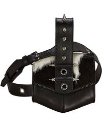 OKHTEIN - Haircalf Belt Bag - Lyst