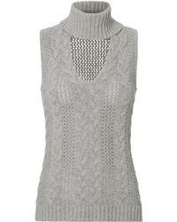 Exclusive For Intermix | Marie Turtleneck Knit Top | Lyst