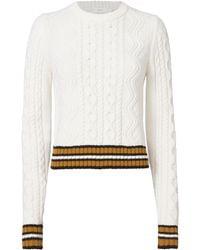 A.L.C. | Alpha Striped Sweater | Lyst