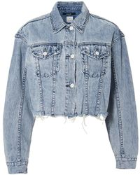 Ksubi - Daggerz Crop Denim Jacket - Lyst