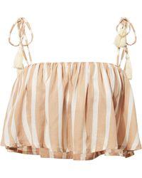 Cool Change - Ella Striped Crop Top - Lyst