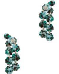 Lele Sadoughi - Petal Drop Earrings - Lyst