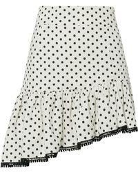 Suboo - Frill Polka Dot Mini Skirt - Lyst