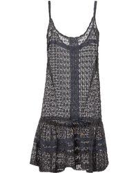 Melissa Odabash | Khloe Knit Mini Dress | Lyst