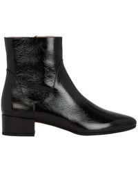 Francesco Russo - Patent Leather Boots - Lyst