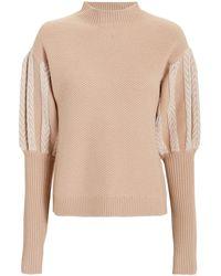 Jonathan Simkhai - Puff Sleeve Sweater - Lyst