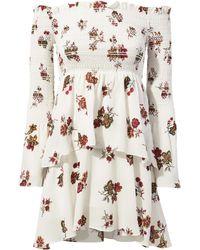 A.L.C. | Toni Smocked Tiered Dress | Lyst