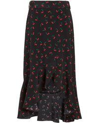 Intermix - Kathleen Printed Skirt - Lyst