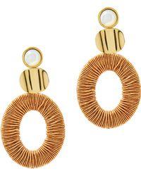 Lizzie Fortunato - Harvest Moon Earrings - Lyst