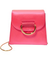 Little Liffner - D Tiny Box Pink Shoulder Bag - Lyst