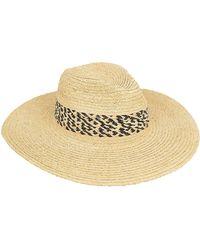 Hat Attack - Safari Continental Hat Beige/black 1size - Lyst