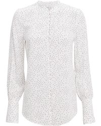 Joie - Tariana Button Front Blouse - Lyst