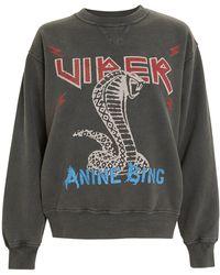 Anine Bing - Cobra Sweatshirt - Lyst