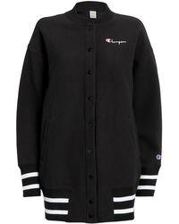 Champion - Premium Reverse Weave Sweatshirt Cardigan - Lyst