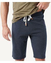 Intimissimi Men's Cropped Pajamas With Grandad Collar Top - Multicolor
