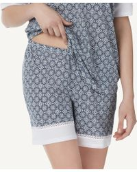 Intimissimi - Maiolica Lace Supima® Cotton Shorts - Lyst