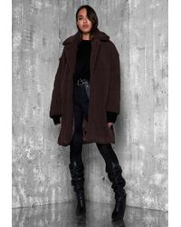 Ivyrevel - Calia Coat Dark Brown - Lyst