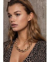 Ivyrevel - Matt And Shine Chain Necklace Gold Mix - Lyst