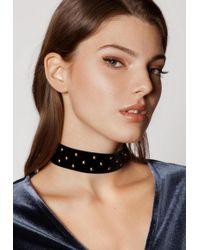 Ivyrevel - Minor Studs Necklace Black - Lyst
