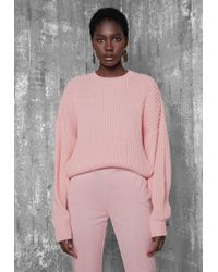 Ivyrevel - Bat Sleeve Cropped Knit Light Pink - Lyst