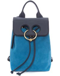 JW Anderson - Sapphire Mini Pierce Backpack - Lyst