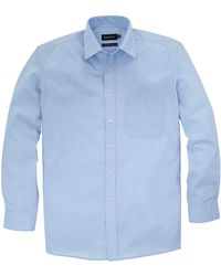 Double Two - Fresh Blue L/s Shirt R - Lyst
