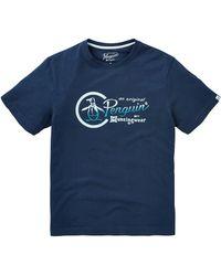 Original Penguin - Script Logo T-shirt - Lyst