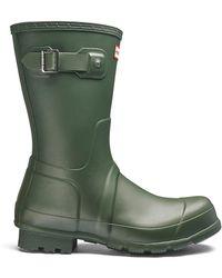HUNTER - Original Short Wellington Boots - Lyst