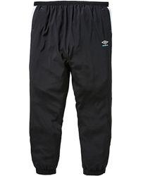 Adidas originali sportlux tessuti pantaloni in nero per gli uomini lyst