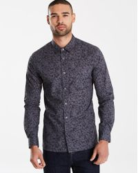 French Connection - Floral Party Shirt - Lyst