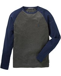 French Connection - Raglan T-shirt - Lyst
