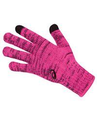 On - Asics Nyc Marath Thermal Liner Glove - Lyst