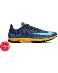 9afd4aee7f8c Lyst - Nike Zoom Streak Lt 3 Running Shoe in Blue for Men