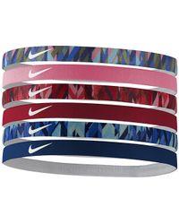 Nike - Printed Headband Assorted 6pk - Lyst