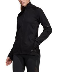 3145f8515254 Lyst - adidas Freelift Woven Jacket in Black