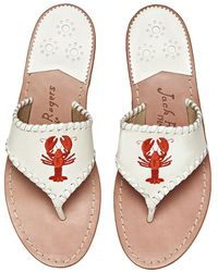 Jack Rogers - Exclusive Lobster Sandal - Lyst