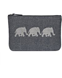 Jack Rogers - Embroidered Elephant Pouch - Lyst