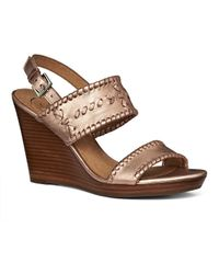 Jack Rogers | Vanessa Stacked Wedge | Lyst
