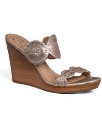 Jack Rogers - Luccia Wedge - Lyst