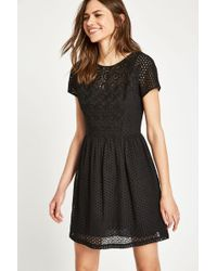 Jack Wills - Spalding Cotton Broderie Dress - Lyst