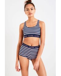 Jack Wills - Colrick Crop Top And Shorts Gift Set - Lyst