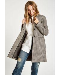 Jack Wills - Chelsea Checked Overcoat - Lyst