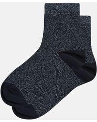 Jack Wills - Edenham Metallic Ankle Socks - Lyst