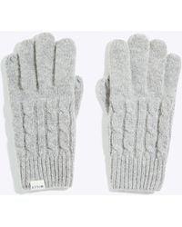 Jack Wills - Poynton Cable Gloves - Lyst
